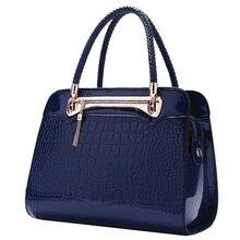 2016 Autumn and Winter Women's Handbag For Crocodile Elegance Tote Bag Fashion Travel Hand Made Bag