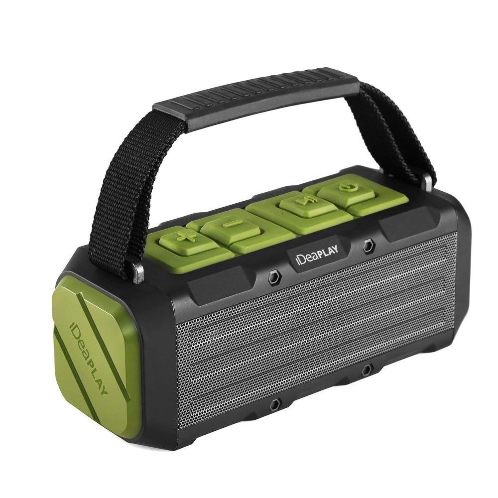 W204 IPX7 Waterproof Wireless Bluetooth Speaker 20W Hi-Fi Sound Outdoor Portable Loudspeaker With Power Bank Function