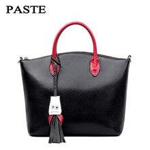 วางแบรนด์กระเป๋าถือผู้หญิงCowskinกระเป๋าหนังแท้ออกแบบหรูหรากระเป๋า6p0250