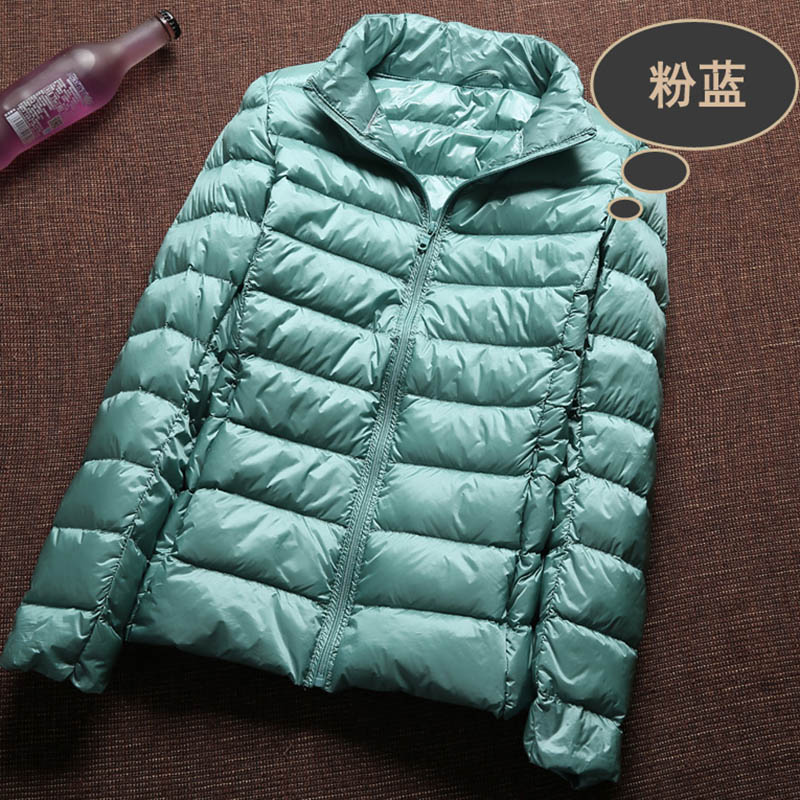 Ultra Light 90 White Duck Down Jacket Women Winter Coat 2018 Thin Female Winter Slim Warm