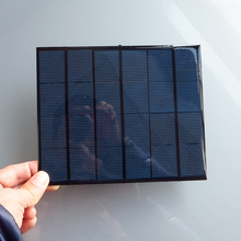 2pc x 6V 3 5W 3 Watt Mini monocrystalline polycrystalline solar Panel charge battery DIY kit