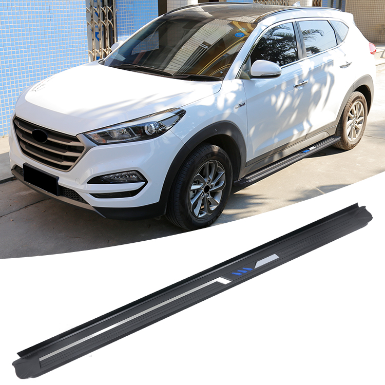 Light step pedal For Hyundai Tucson 2014 2018 Side Step Running Boards + Necessary Mounting Hardware