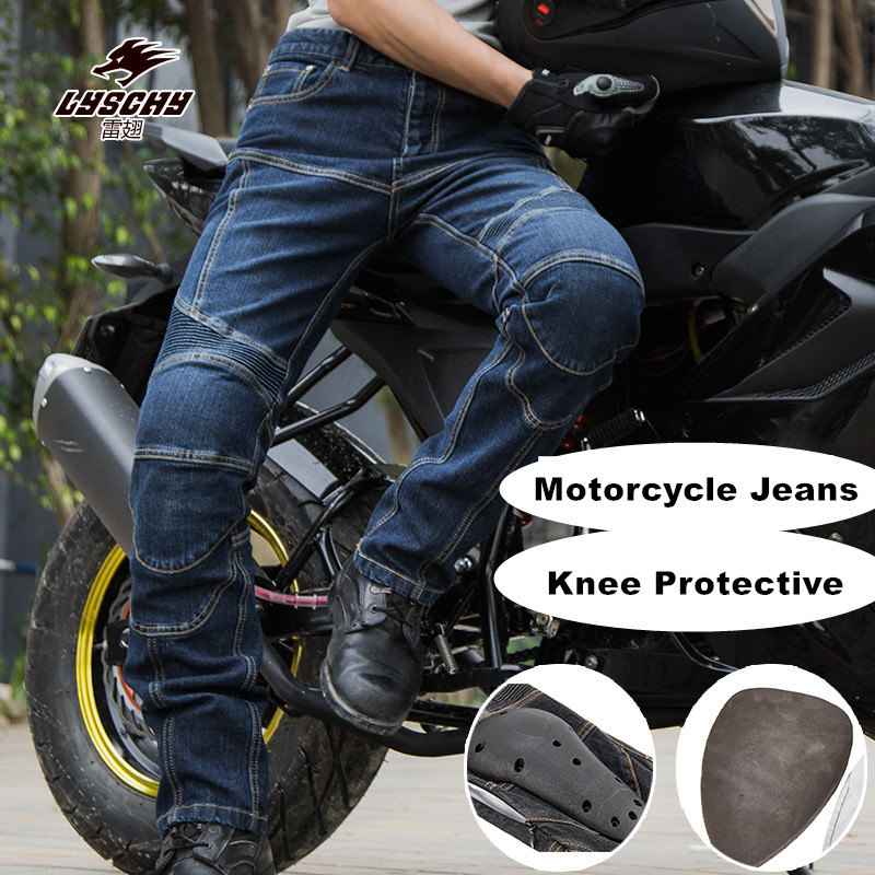 Motorcycle Pants Motocross Men's Outdoor Sports Riding Off-Road Knee Protective trousers / motorcycle professional winter pants 2017 motoboy motocross riding sports car split raincoat rain pants suit professional male motorcycle rain gear and equipment