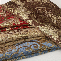 1 45m Width And 1m Length Chenille Curtain Cloth Plain Coloured Flannel Cloth Sofa Bolster Cover