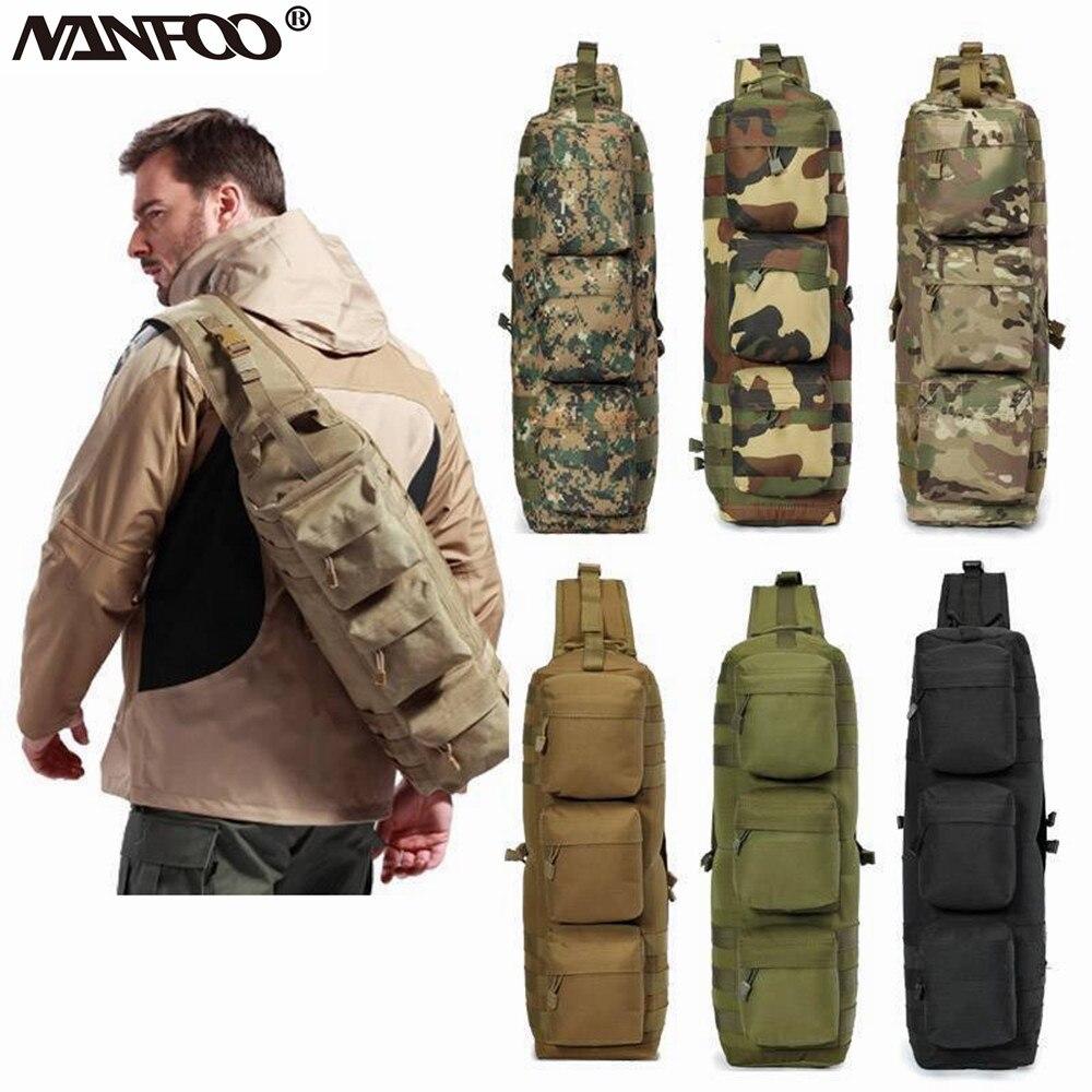 Спортивная камуфляжная сумка на одно плечо, для активного отдыха, походов, походов|military tactical|hiking bagoutdoor bag | АлиЭкспресс