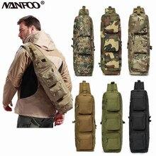 Outdoor Sports Military Tactical Camo Single Shoulder Bag Assault Sling Bag Molle Backpack Hiking Camping Trekking Messenger