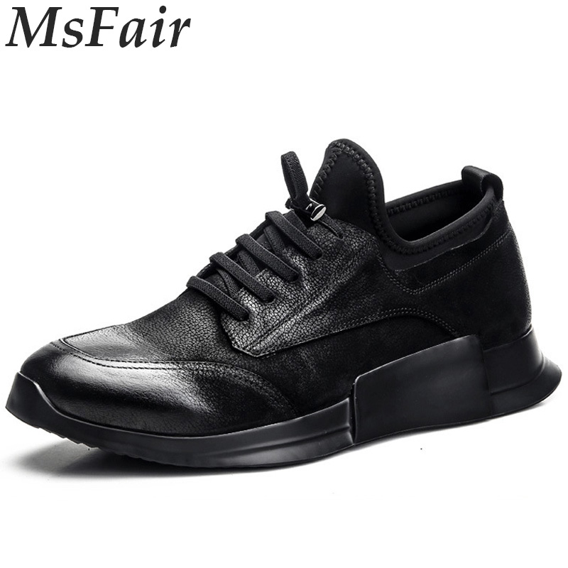 MSFAIR 2018 New Men Running Shoes Outdoor Athletic Outdoor Jogging Sport Shoes For Men Men Sneakers Walking Shoes Man Brand 2016 sale hard court medium b m running shoes new men sneakers man genuine outdoor sports flat run walking jogging trendy