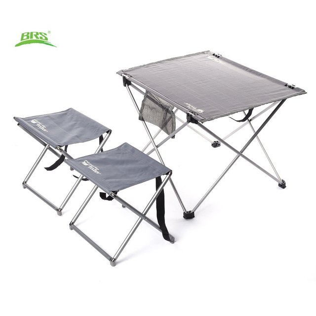Folding C&ing Hiking Picnic Table BRS-T03 3pcs Set Portable Outdoor Oxford Fabric Ultralight Foldable  sc 1 st  AliExpress.com & Folding Camping Hiking Picnic Table BRS T03 3pcs Set Portable ...