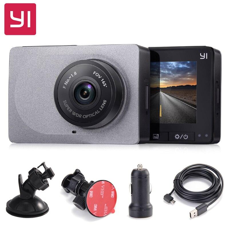 [International Edition] Xiaomi YI Smart Car DVR 165 Degree 1080P 60fps Car Detector 2.7 Dash Camera ADAS Safe Reminder Dashcam