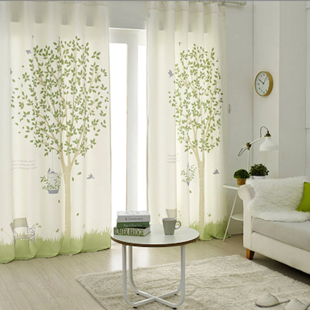 1x Grommet Window Draperies Curtain Nursery Kids Children Room Dressing Covering 145 X 180cm 220cm