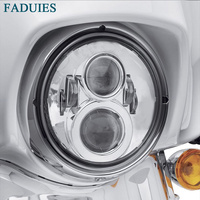 FADUIES 7 inch Motorcycle LED Headlight Projector for Harley motorcycle Ultra Classic Electra Glide Street Glide Fat Boy