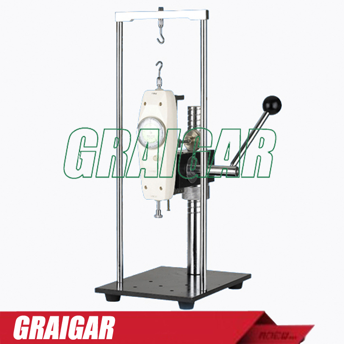 Manual test stand AST-J pointer Push pull Force test max load 500n ast j manual test stand without force gauge