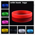 12 Colors Silicone Bracelets for Men, Gym Fitness Power Bands Energy Bangles, Basketball Sports Wristbands BA1