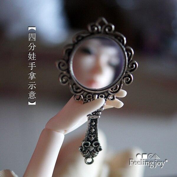 1:4 1:6 Cute MINI Dollhouse Miniature Home Decoration Dresser Mirror