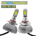1 Pair 40W 9005 HB3 4000LM LED Lamp White Car Conversion Headlight Low Beam DRL Fog Bulb Daytime Running Lamp