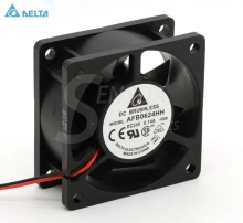 Free Shipping!Original Delta 6025 24V 0.14A 2-line AFB0624HH Server Inverter Cooling fan ultra strong wind original 24v 8cm 1 63a pfb0824dhe four wire pwm inverter fan