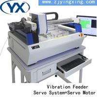 Hottest high YINGXING SMD/LED Soldering Machine 4 Heads 60 Feeders Stencil Printer Machine Advanced SMT Line
