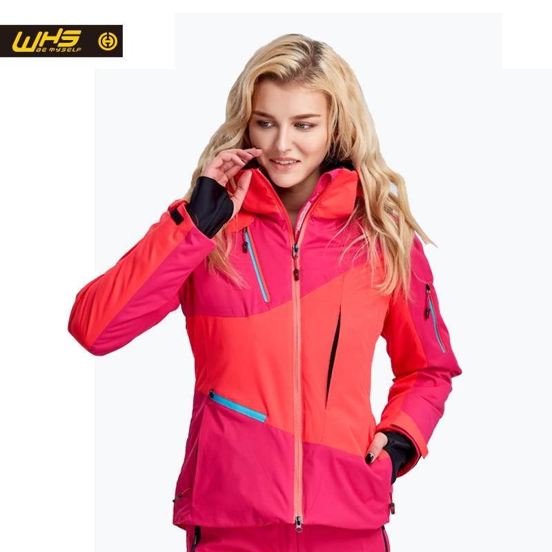 WHS жаңа әйелдер шаңғы куртка ханымдар - Спорттық киім мен керек-жарақтар - фото 4
