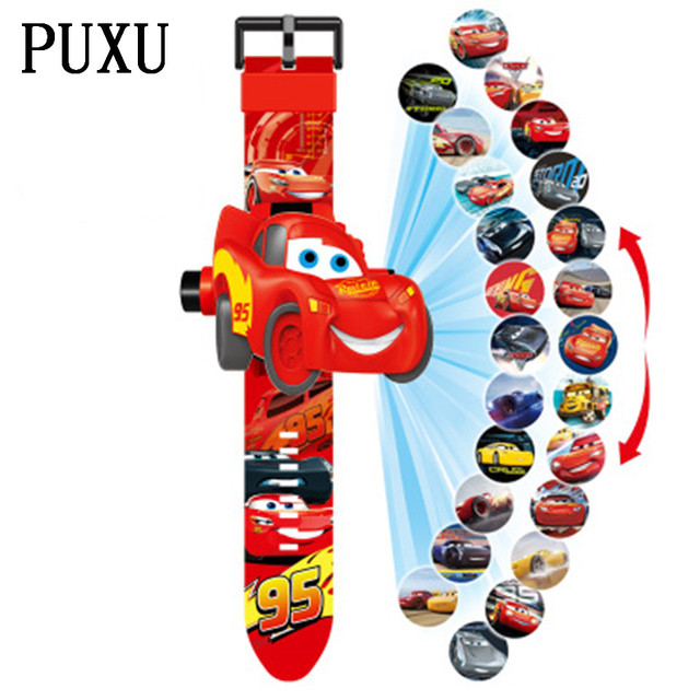 Hot Selling Children's Watch For Boy Girls 3D Projection Watches Kids Electronic