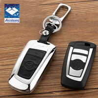 2017 NEW Zinc Alloy Genuine Leather Key Cover Case For BMW M1 M2 M3 E90 F05