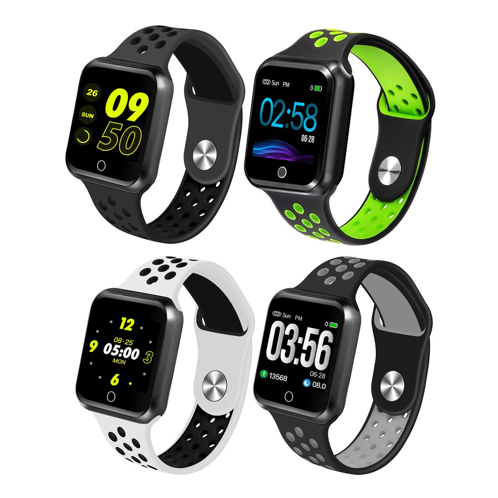 S266 1.3 Inch Smart Watch Women Men Sport Bluetooth Waterproof Heart Rate Monitor Blood Pressure Smartband For IOS Android