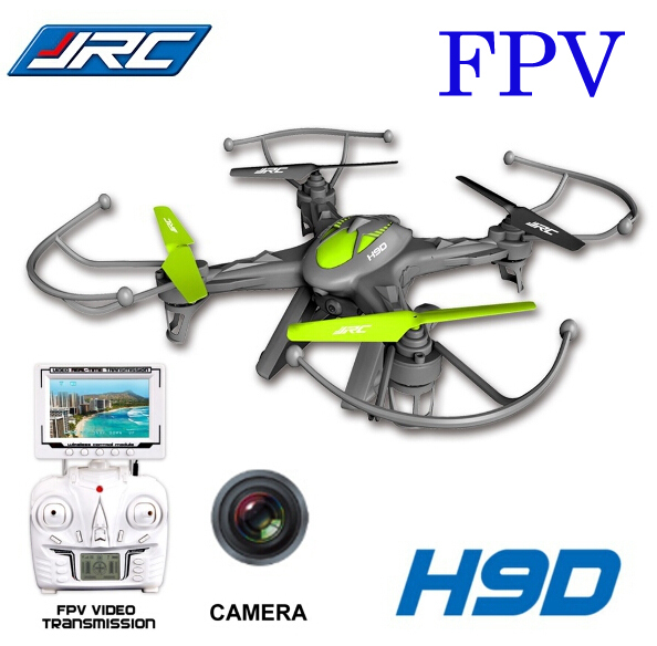 JJRC H9D 2.4G 6-Axis quadcopter Profession FPV Video Real-Time Transmission 5.8G With Ca ...