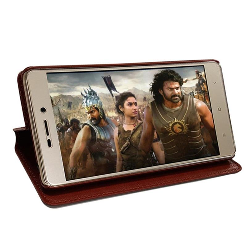 Para Xiaomi Redmi note 4 Flip Case Funda de cuero PU Funda Xiomi - Accesorios y repuestos para celulares - foto 4