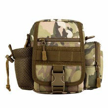 Outdoor Tactical Waist Water Bottle Pack Single Shoulder Bag Sports Backpack Camping Traking Hiking Travel Messager