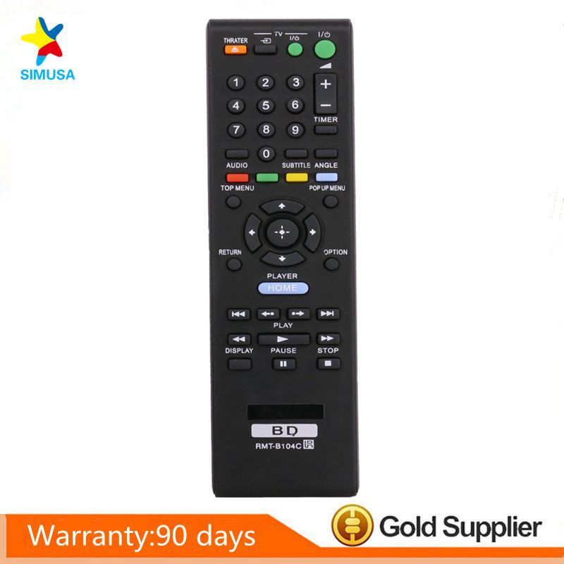 RMT-B105A,RMT-B105P,BDP-BX2 Universal <font><b>Remote</b></font> <font><b>Control</b></font> For <font><b>Sony</b></font> <font><b>Blu</b></font> <font><b>Ray</b></font> <font><b>DVD</b></font> <font><b>Player</b></font>