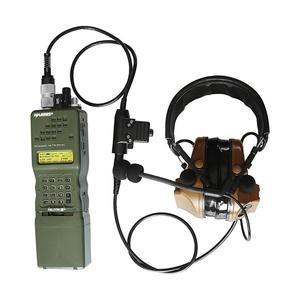 Image 5 - Переходник для военной гарнитуры, тактический PTT U94 PRC PTT, 6 контактный PTT U94 для AN / PRC 152 152A 148, виртуальная крышка