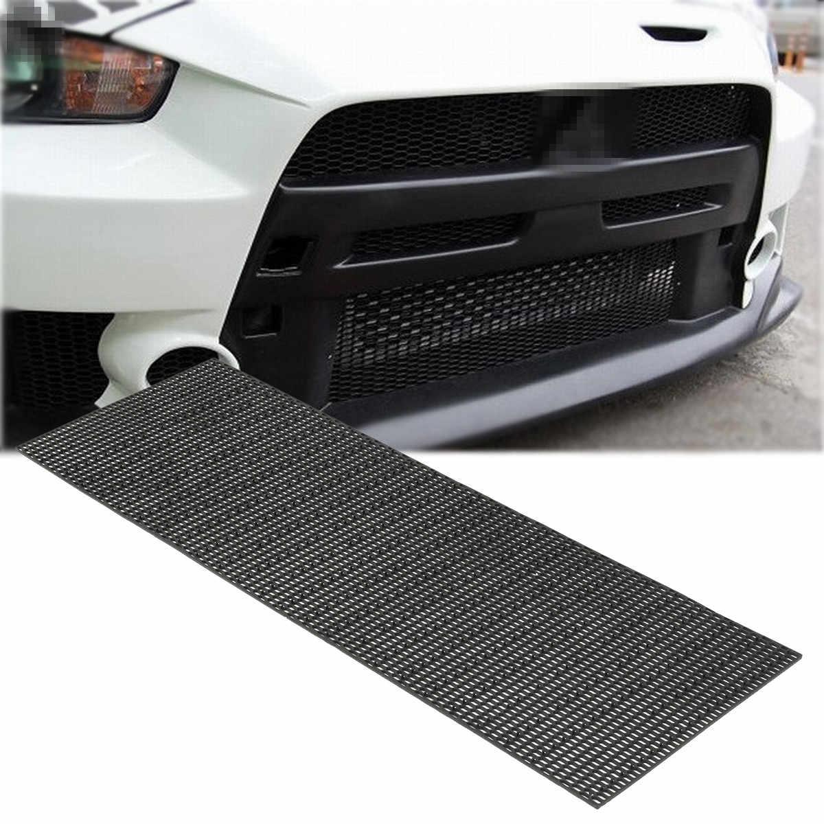 Universal Black Honeycomb ABS Plastic Vent Car Tuning Racing Grill Mesh  40x120cm