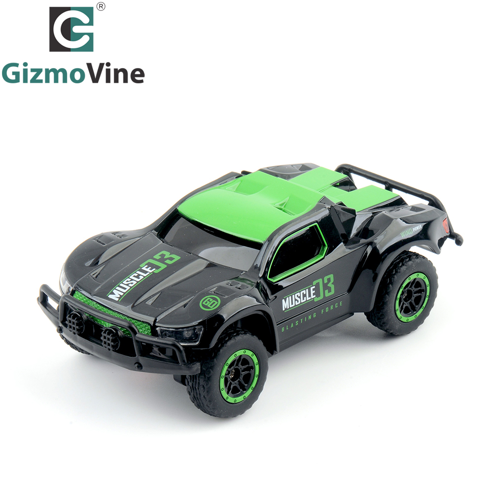 gizmovine mini rc car 25km h high speed 1 43 r c truck 4ch remote control toys for kids boy in. Black Bedroom Furniture Sets. Home Design Ideas