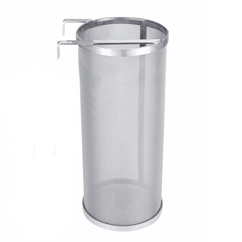 TOP!-Stainless Steel Mesh Hop Spider Homebrew Hop Filter Beer Brewing Tea Kettle Brew Filter Strainer Bar Accessories