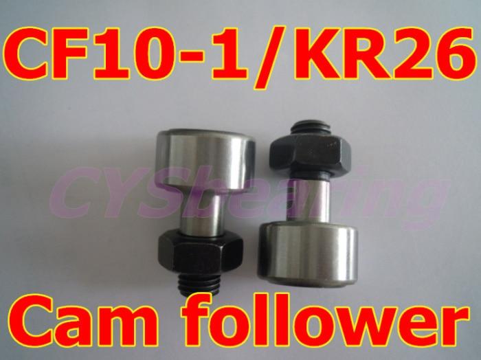 10 шт./лот KR26 CF10-1 трек игольчатый подшипник, шпильки Тип опорный ролик Роликовые Подшипники кривая ролик 10 мм вал