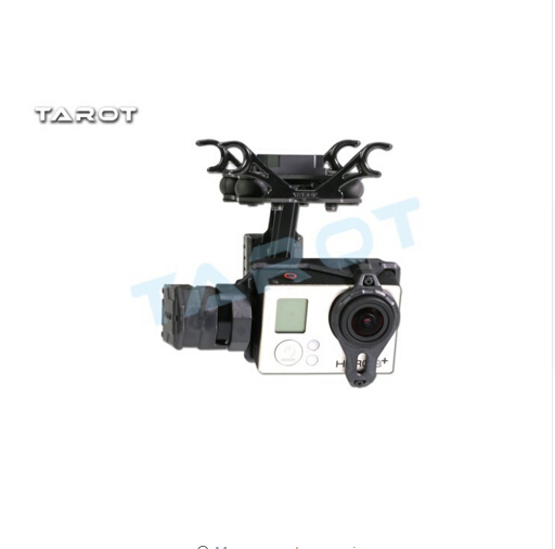 F17383 T2 2D 2 Axis Brushless Gimbal For Gopro Hero 4 3 3 TL2D01 FPV Gimbal