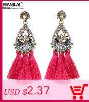 manilai романтично роза цвет серебро серьги, серьги ювелирные изделия e003