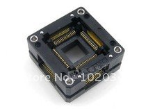 Фотография 100% NEW OTQ-64-0.8 QFP64 TQFP64 IC Test Socket / Programmer Adapter / Burn-in Socket  (OTQ-64-0.8-01)