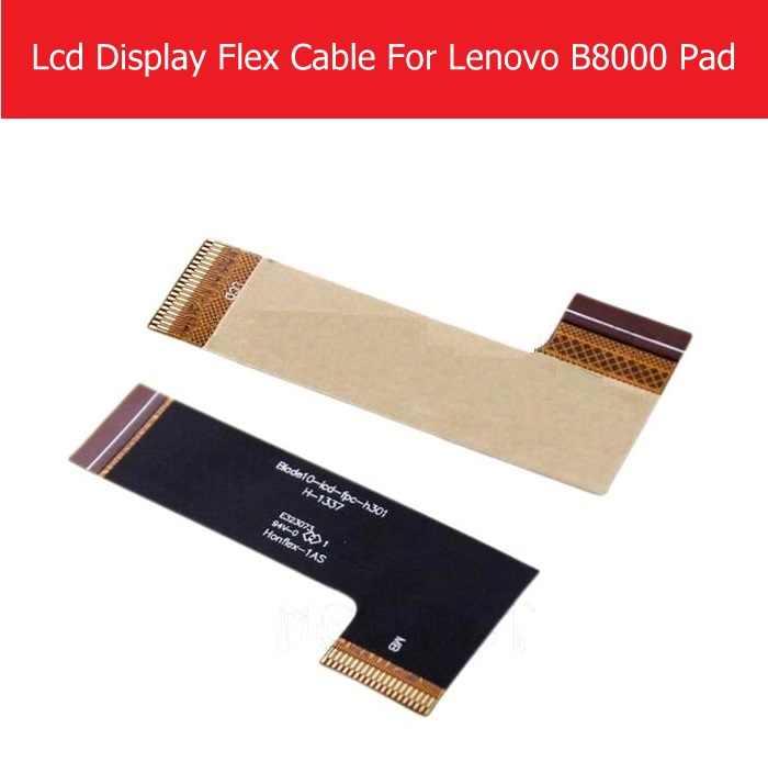 100% حقيقية LCD لوحة الكابلات المرنة لينوفو B8000 سادة LCD عرض PCB لينوفو B6000 Blade10-lcd-fpc-h301 الكابلات المرنة أجزاء