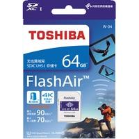 TOSHIBA Wifi SD Card 64GB 32GB 16GB Memory Card U3 UHS W 04 FlashAir Wireless LAN High Speed 2019 NEW