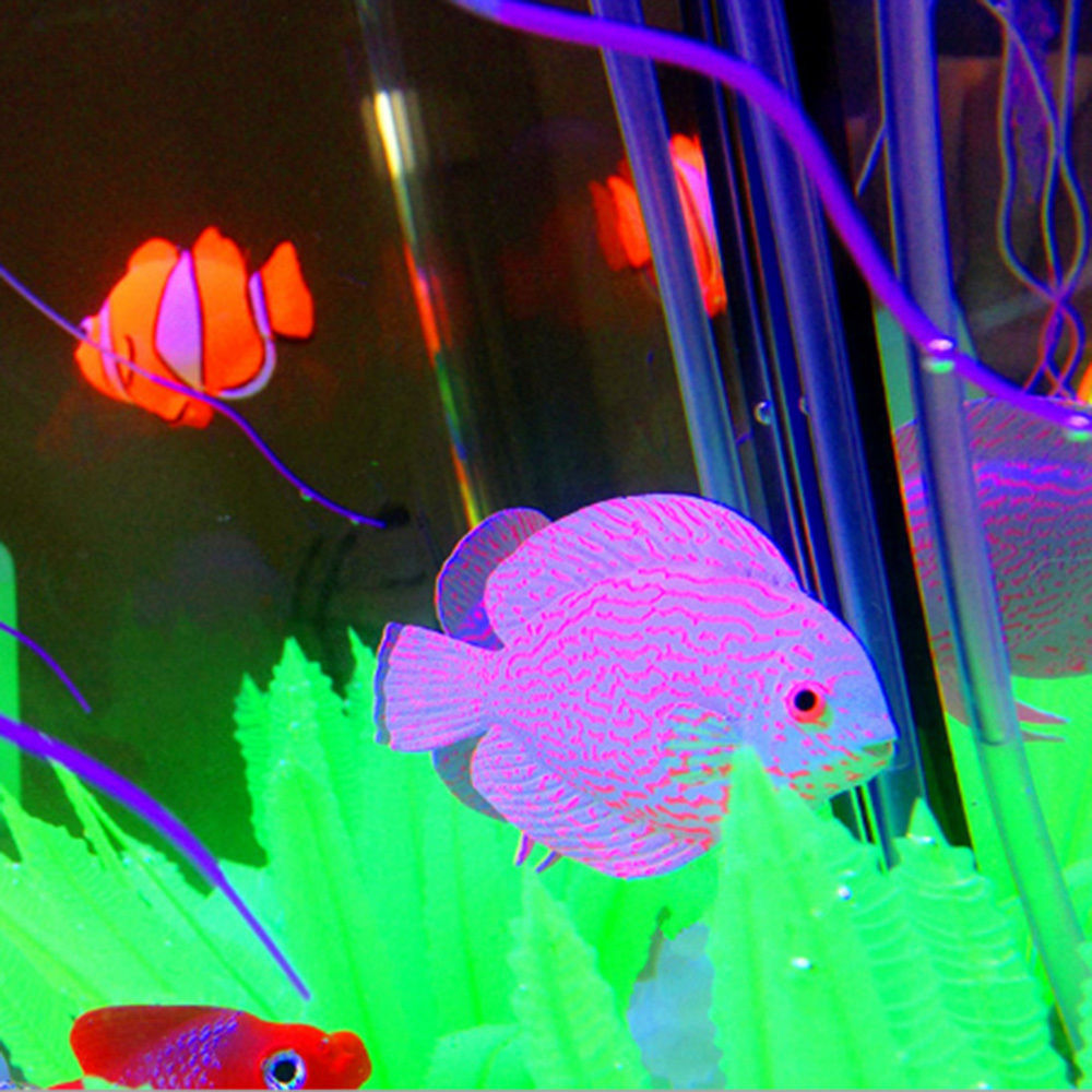 onnpnnq decor goldfish aquarium decoration artificial glowing effect fish tank ornament in. Black Bedroom Furniture Sets. Home Design Ideas