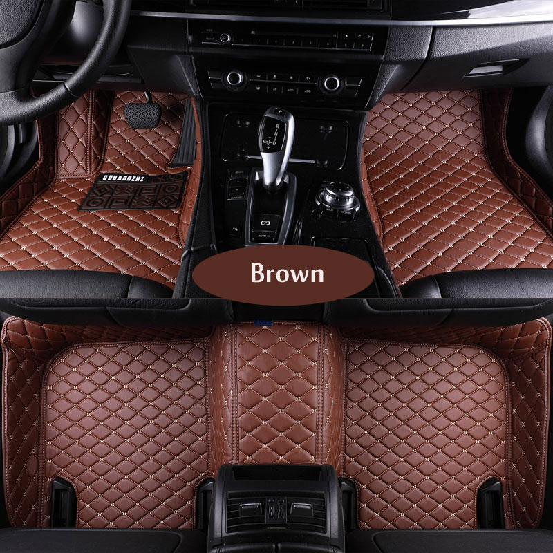 3D Custom fit car floor mats for Honda Accord Civic CRV City HRV Vezel Crosstour Fit car-styling heavey duty carpet floor liner for mazda cx 5 cx5 2nd gen 2017 2018 interior custom car styling waterproof full set trunk cargo liner mats tray protector