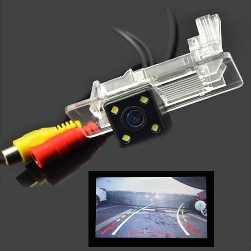 CCD LED 600Line Dynamic Trajectory Tracks Rear View Camera for VW Polo Jetta Tiguan Passat for Skoda Octavia Superb Fabia Rapid
