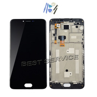 For Meizu M3 Note LCD Screen Display With Touch Screen Digitizer Glass Panel For Meizu Meilan