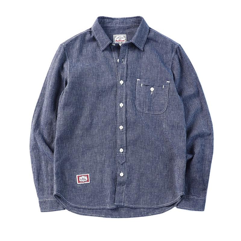 4353.03руб. 54% СКИДКА|ST 0006 прочитать описание! Азиатский размер, винтажная рубашка, мужская хлопковая и льняная рубашка|Повседневные рубашки| |  - AliExpress