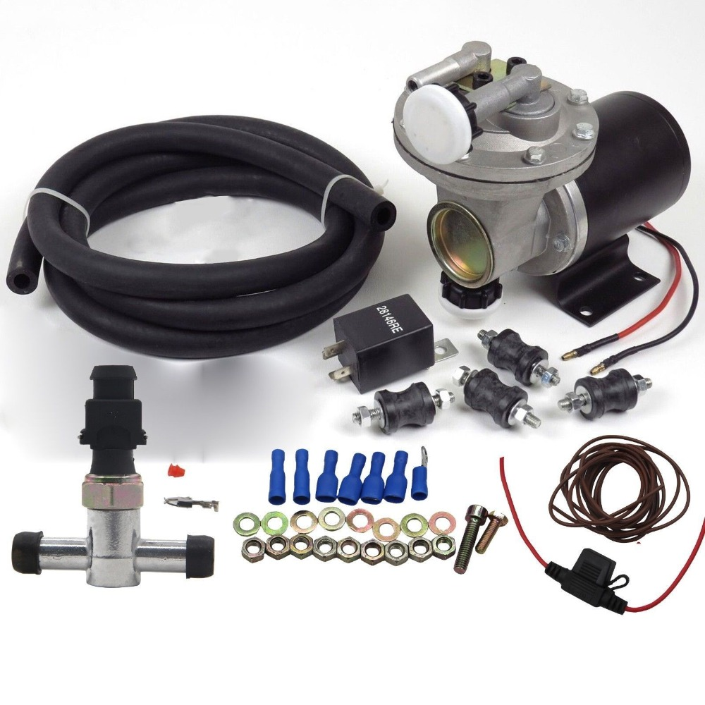 Dracarys 28146 Electric Vacuum Pump Kit For Booster Brake Booster Vacuum Pump Electric Vacuum Pump For Brakes vacuum pump inlet filters f007 7 rc3 out diameter of 340mm high is 360mm