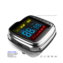 Soft laser therapy watch Laser Therapy Device to Reduce high Blood Pressure , High Cholesterol