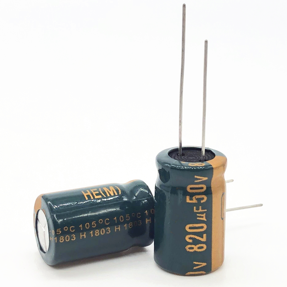 50V 820UF 13*20  High Frequency Low Impedance Aluminum Electrolytic Capacitor 100uf 50V 20%