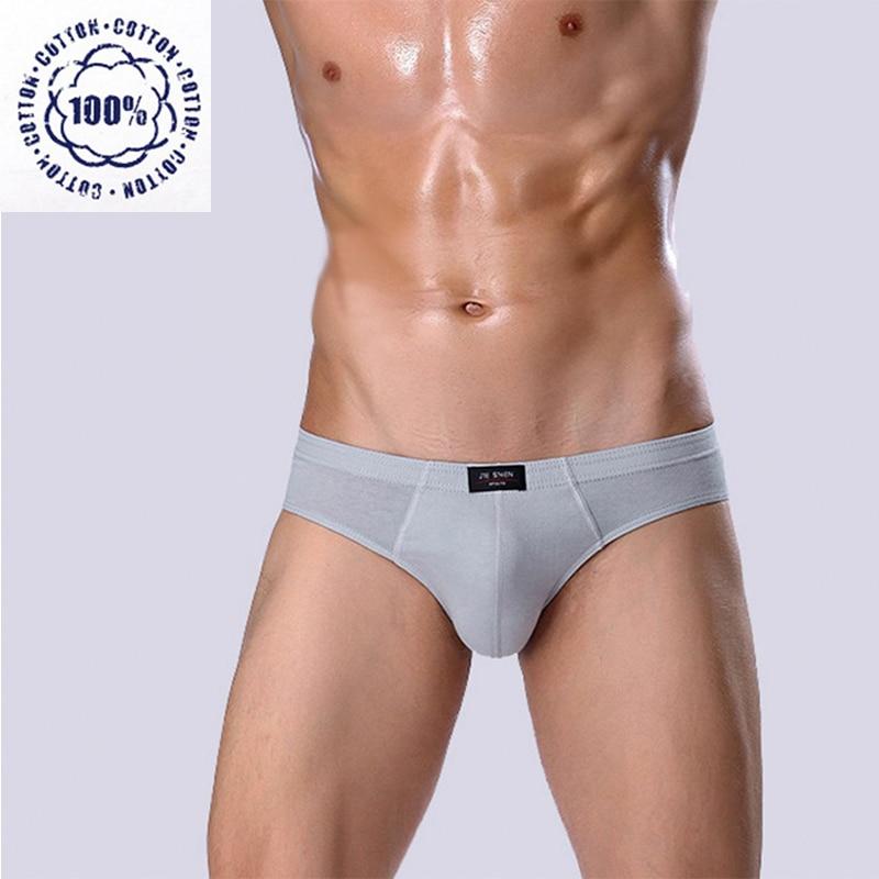 Men Briefs Cotton Shorts Mens Underwear Penis Pouch Breathable Family Panties Large Sizes XXL XXXL 4XL 5XL Mid Waist Underpants