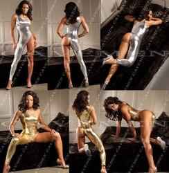 Золотой Серебристый из кожи * 3099 * женские стринги Нижнее Бельё для девочек Трусики для женщин T-Back купальник бикини Бесплатная доставка