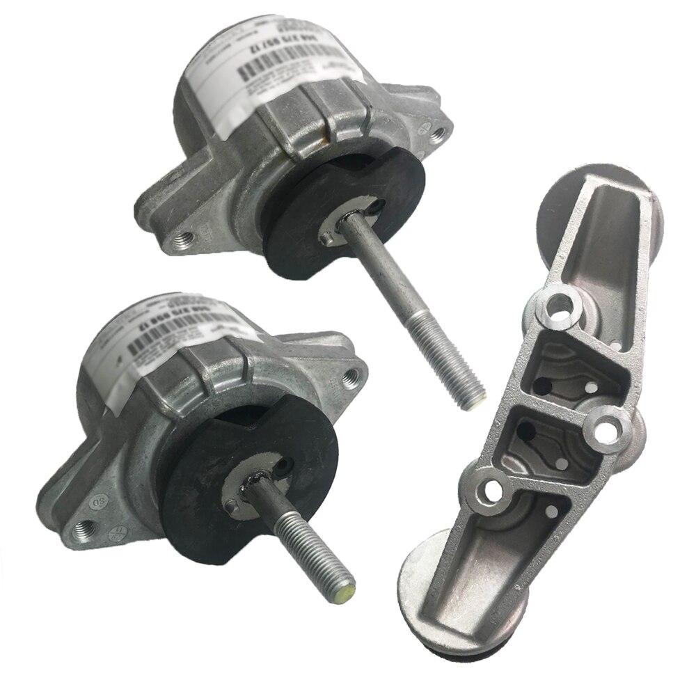 Fit For Porsche Panamera Engine Motor Mount + Automatic Transmission Mount 94837506100 94837506200 97037511801